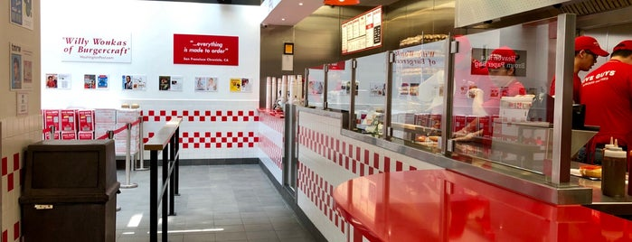 Five Guys is one of Hong Kong.
