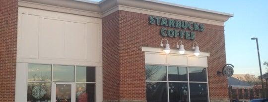 Starbucks is one of Lieux qui ont plu à E.
