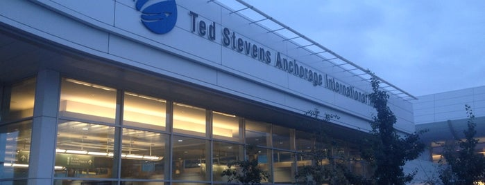 Ted Stevens Anchorage International Airport (ANC) is one of Alaska Trip by Greg and Megan.