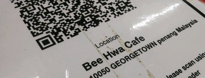 Bee Hwa Cafe is one of Penang.