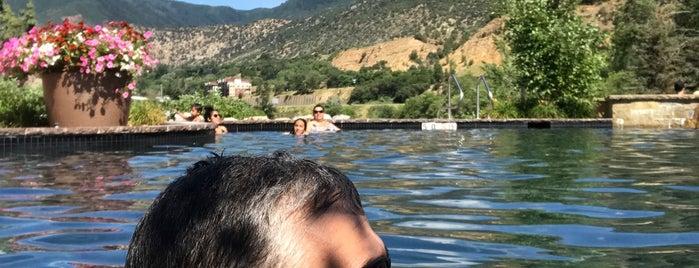 Iron Mountain Hot Springs is one of สถานที่ที่ Katherine ถูกใจ.