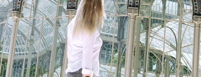 Palacio de Cristal del Retiro is one of Posti che sono piaciuti a Irina.
