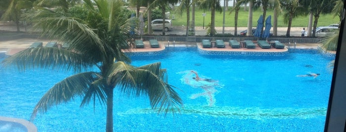 Saigon River Club Fitness is one of Lugares favoritos de NZ.