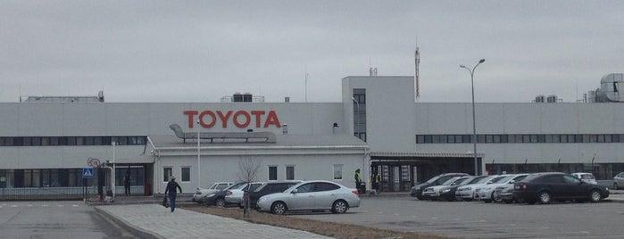 Toyota Motor Corporation is one of Юрийさんのお気に入りスポット.