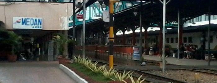 Stasiun Medan is one of Public.