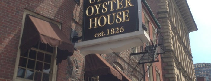 Union Oyster House is one of Old boston bars.