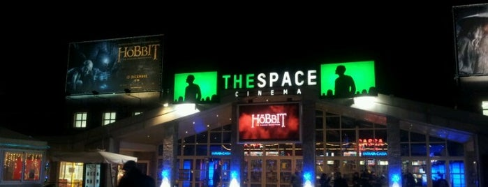 The Space Cinema is one of Ottica Astrologo'nun Beğendiği Mekanlar.