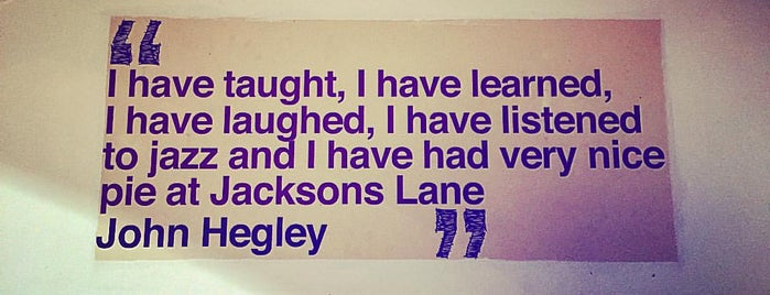 Jacksons Lane is one of London.