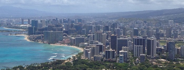 Diamond Head State Monument is one of hawaii'17.