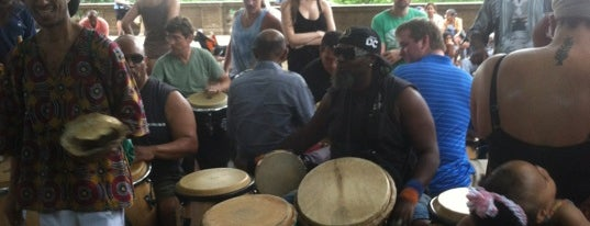 Meridian Hill Park Drum Circle is one of Nation's Capitol.