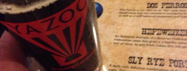 Yazoo Brewing Company is one of Breweries USA.