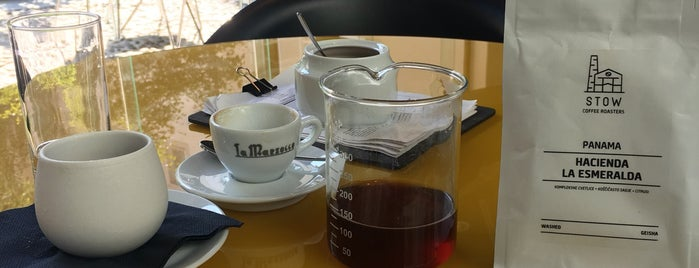 Kavarna STOW is one of Coffee.