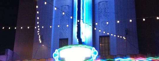 Warner Grand Theatre is one of Tempat yang Disimpan Andrew.