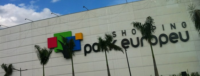 Shopping Park Europeu is one of Blumenau.