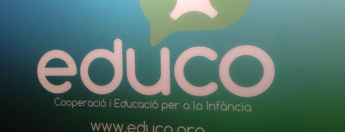 Educo ONG is one of ricard: сохраненные места.