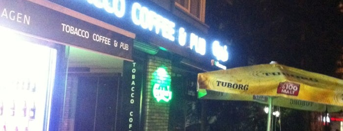 Tobacco Cafe & Pub is one of Emine 님이 좋아한 장소.