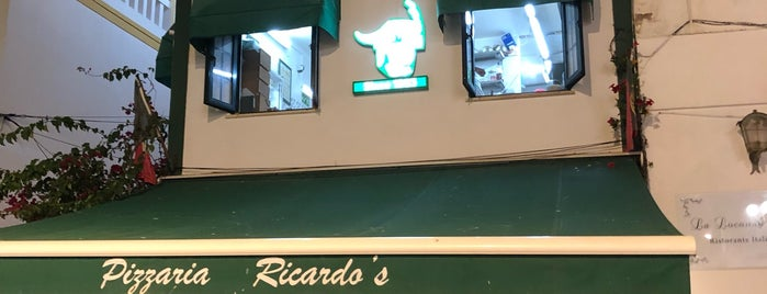 Ricardos Pizzaria is one of Albufeira.