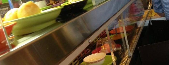 Makakiko | Running Sushi is one of Charming Praha.