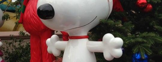 Snoopy Studios is one of Universal Studios Japan.