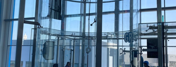 Gravity Indoor Skydiving is one of Bahrain.