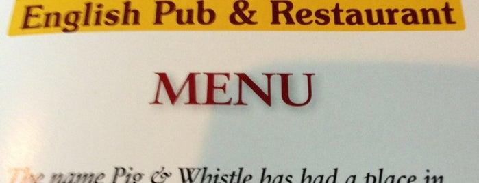 The Pig & Whistle British Pub and Restaurant is one of Gespeicherte Orte von Amy.