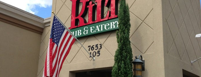 Tilted Kilt is one of Best Bars in Orlando to watch NFL SUNDAY TICKET™.