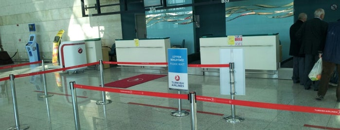 Turkish Airlines Check-in Desk is one of CWOmerB.