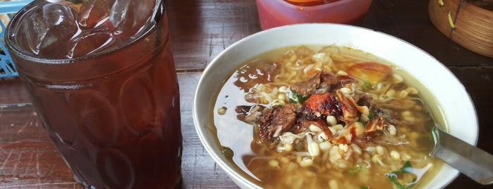 Soto Rempah Mbak Nur is one of Kuliner Solo.