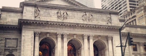 New York Public Library is one of Fashion Week 2013.