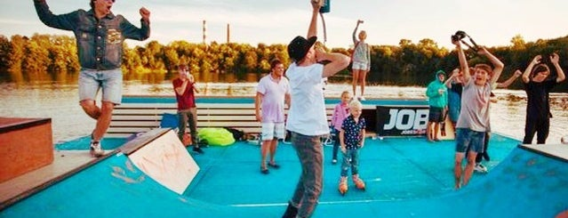 DOMINANT WakePark is one of Fucking Moscow Never Sleep.