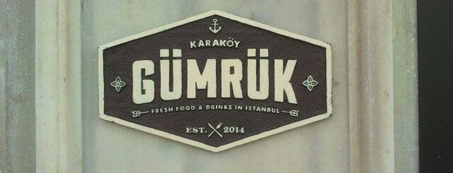 Karaköy Gümrük is one of Top 10 Taverns in Istanbul.
