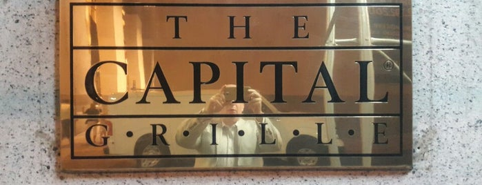 The Capital Grille is one of The New Yorkers: Tribeca-Battery Park City.
