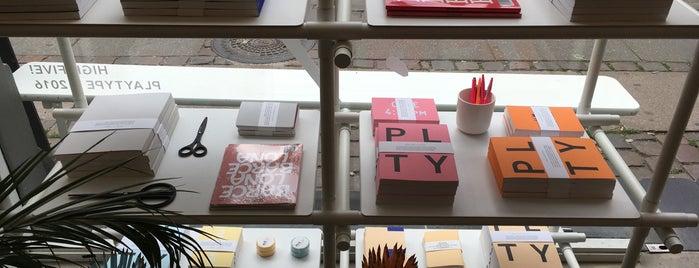 Playtype is one of Copenhagen Musts.