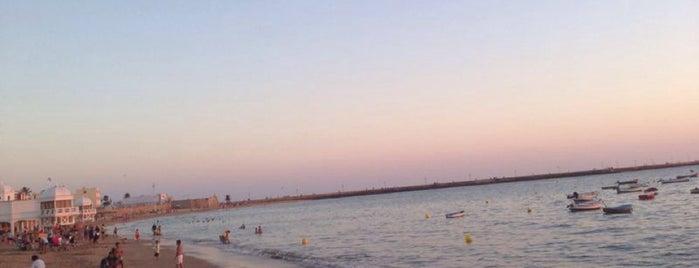 Playa de La Caleta is one of Locais curtidos por Ivan.