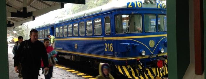 Estación Machu Picchu [PeruRail] is one of Perú.
