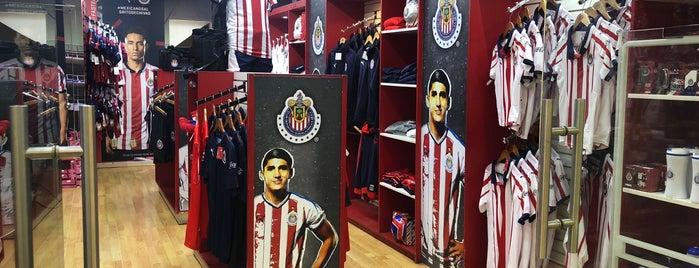 Tienda Chivas is one of Guadalajara.