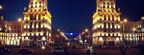 Привокзальная площадь is one of Минск.