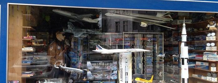 Aviation Center Berlin Luftfahrtshop is one of Berlin Best: Shops & services.
