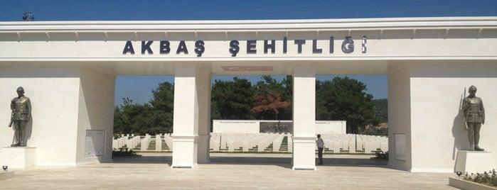 Akbaş Şehitliği is one of Canakkale.