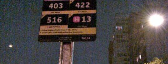 Parada 1 - Metro Santa Isabel (PA174) is one of Providencia.