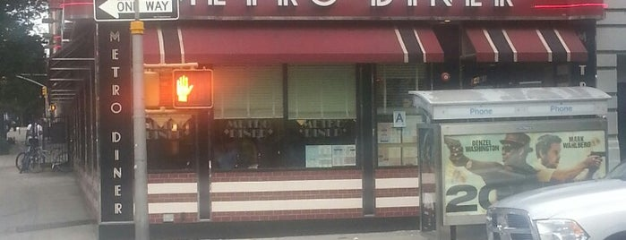 Metro Diner is one of Diners.