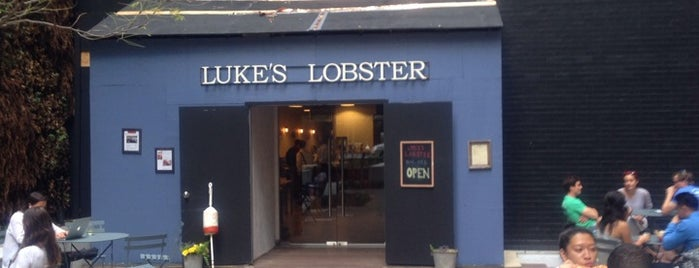Luke's Lobster is one of Lugares favoritos de Sara.