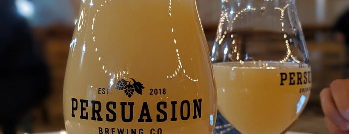 Persuasion Brewing is one of Locais curtidos por Kevin.