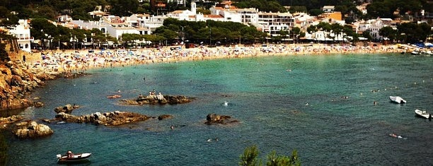 Platja de Llafranc is one of Playas de España: Cataluña.