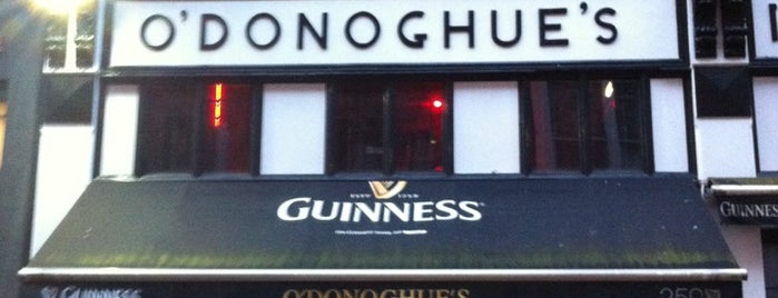 O'Donoghues is one of Irlanda.