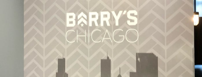 Barry's Bootcamp is one of Chicago.