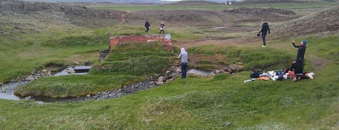 Hrunalaug is one of Iceland.