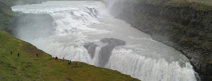 Gullfoss is one of Iceland.