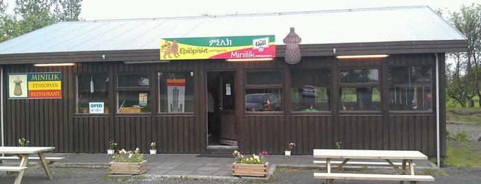 Minilik is one of Iceland.
