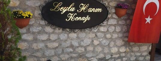 Leyla Hanım Konağı is one of gidilen yerler.